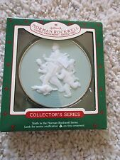 New listing 1985 Norman Rockwell Cameo Collector'S 6th in Series Hallmark Ornament