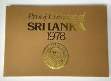 1978 Proof coin set from Sri Lanka