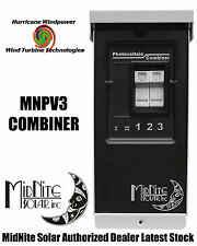 MIDNITE SOLAR MNPV3 PV COMBINER BOX FOR SOLAR PANEL WIND TURBINE WIND GENERATOR
