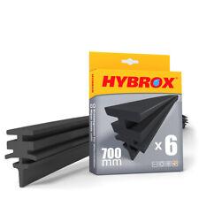 HYBROX Scheibenwischergummi / Wischergummi / Ersatzgummi 6 x 700 mm