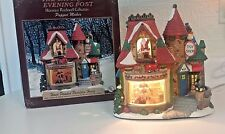 CHRISTMAS HOUSE NORMAN ROCKWELL SATURDAY EVENING POST PUPPET MAKER MIB