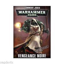 VN37 LIVRET VENGEANCE NOIRE FRANCAIS WARHAMMER BITZ W40K DARK VENGEANCE