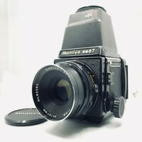 【EXC+4】MAMIYA RB67 Pro S + SEKOR C 127mm F/3.8 + 120 Film Back From JAPAN 187