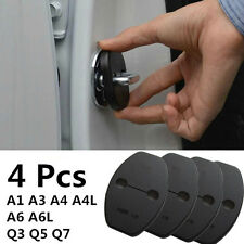 4 x  Car Door Lock Buckle Protective Cover Pad Guard Protector For Audi Q3 Q5 Q7