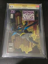BATMAN #417 CGC SIGNATURE SERIES 9.6 SIGNED JIM STARLIN 1st App. KGBeast