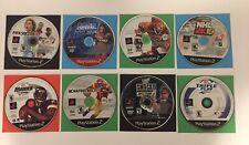 PS2 Sports Lot Of 8 Games - NHL, WWE, Baseball, Soccer, Madden, NCAA Work Great!