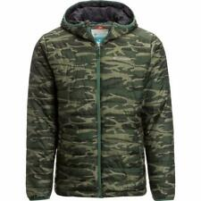 Columbia Men's Crested Butte Omni-Heat Hooded Jacket Camouflage Small New NWT