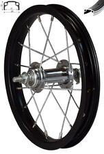 silber Kastenfelge für Kinderrad 203-19 12 Zoll Vorderrad Alu V-Brake