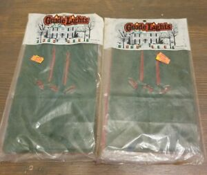 Vintage 1990 Holiday Luminarias Bags Guide Lights 2 Packages 6 Each Christmas