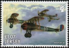 WWI US NIEUPORT 28 French Fighter Aircraft Stamp (2017 The Great War in the Air)