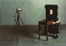 Postcard Annie Leibovitz Photo Tony Oursler in Studio New York Unused MINT