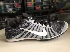 Nike Zoom D Distance Track Spikes Black/White/Gray 819164-010 Size 8.5 New
