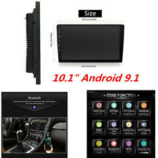 """10.1"""" 2Din Android 9.1 Car 1080P Quad-core Touch Screen Stereo Radio Wifi GPS"""