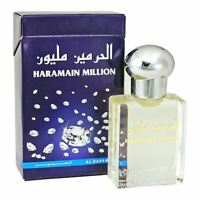 Million Attar Perfume Oil 15ml Roll on Bergamot Rose Vanilla Ittar Al Haramain