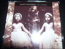 Wendy Matthews Say A Prayer Australian Promo CD Single – Like New