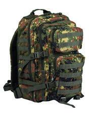 Rucksäcke & Taschen Sport Us One Strap Assault Molle Allround Army Outdoor Pack Rucksack Large Black Attraktiv Und Langlebig