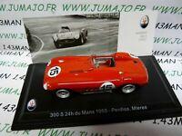 MAS28S voiture 1/43 LEO models MASERATI 300S 24 heures du Mans 1955 P. Miere