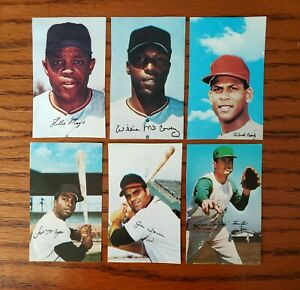 100+ COUNT LOT 1969 MLB PHOTOSTAMPS  HOF & STARS EXCELLENT CONDITION