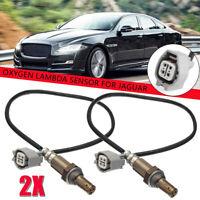 2x Lambda Oxygen O2 Sensor Pre-cat C2N3717 For Jaguar X-Type S-Type XJ XK 8 XKR
