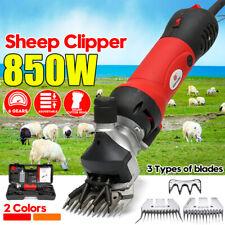 850W 220V eléctrica para ovejas/cabras Clipper Groomer Tijeras Máquina + Cortante