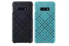 Official Samsung Galaxy S10e Black / Green Pattern Cover  / Case - EF-XG970CBEGW