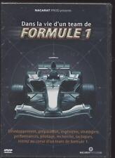 NEUF DVD DANS LA VIE D UN TEAM DE FORMULE 1 SOUS BLISTER SPORT AUTOMOBILE
