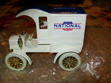 "ERTL#1342 ""NATIONAL VAN LINES #3"" 1905 FORD DELIVERY TRUCK BANK MIB"