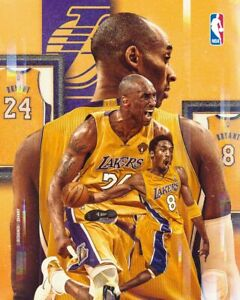 kobe bryant and lebron james basketball star 36x24 Inch Home Decoration Poster