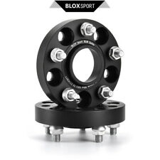 4pcs 30mm Wheel Hub Spacers Adapters for Ford Mustang 5x114.3 + 20pcs Studs Nuts