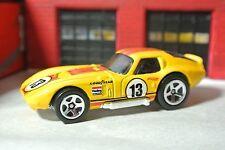 Hot Wheels 2017 - Shelby Cobra Daytona - Yellow - Loose  1:64 - Exclusive