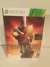 Xbox 360 Fable 3 III Limited Collectors Collector's Edition Brandneu Verpackt Pal