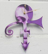 More details for prince symbol clock precision laser cut gold hands