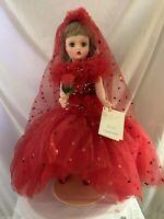 Madame Alexander Cissy By Scassi Doll Vintage Fao Schwartz Original Tag