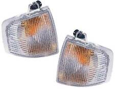 Ford Escort Mk4 1986-1990 Clear Front Indicator Pair Left & Right