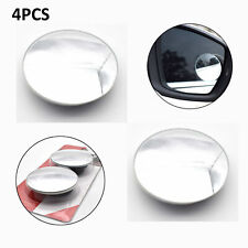 "4pcs Car 2"" Dia Self Adhesive Round Convex Rear View Rearview Blind Spot Mirror"