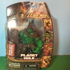 2006 Marvel Legends PLANET HULK Figure with Annihilus Head BAF part MIP - Hasbro