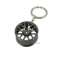 Creative wheel hub rim model keychain car key chain cool gift for man