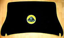 Black velours trunk carpet for Lotus Omega Lotus Logo  1991-1992