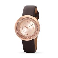 Orologio MORELLATO mod. LUNA ref. R0151112512 donna in pelle marrone rosè strass