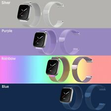 For Fitbit Versa/2 Band Stainless Steel Metal Milanese Loop Wristband strap Gift