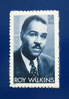 Sc # 3501 ~ 34 ct ROY WILKINS ISSUE (bb5)