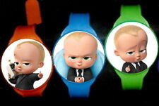 Boss Baby - 8 Pretend Toy Watches -Party Favors Kids Watch Birthday -