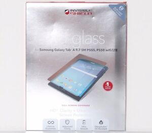 ZAGG InvisibleShield HD Glass Screen Protector for Samsung Galaxy Tab A 9.7 OB
