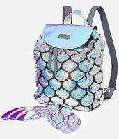 NWT Justice Mermaid MINI Backpack / Rucksack!  Sequin Shimmer & Shine!