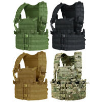 Condor CS Modular Chest Set MOLLE Adjustable Airsoft Chest Rig Tactical Vest