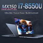 Intel Core i7-8550U Laptop Gaming PC Desktop Nvidia MX150 Support 16G 512G 1TB