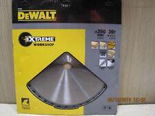 Dewalt DT4305 350mm 36T Extreme Wood Cutting Mitre Table Saw Blade