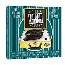 The London American Story 1957 2-CD NEW SEALED Coasters/Rays/Gladiolas/Moonglows