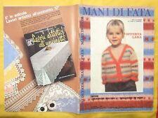 MANI DI FATA 1980 n1,rivista per la donna la casa il bambino,74 pagine.ottimo