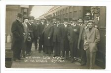 *RARE* October 1910 RPPC CHICAGO CUBS FANS POSTCARD off to WORLD SERIES
